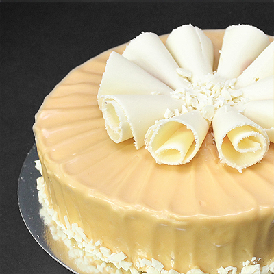 Caramel White Mud Cake