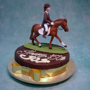 Horse Riding Animal Figurines Special Cakes