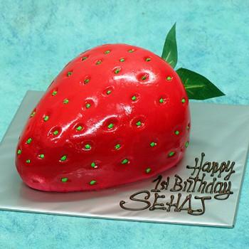 3d Strawberry Cake