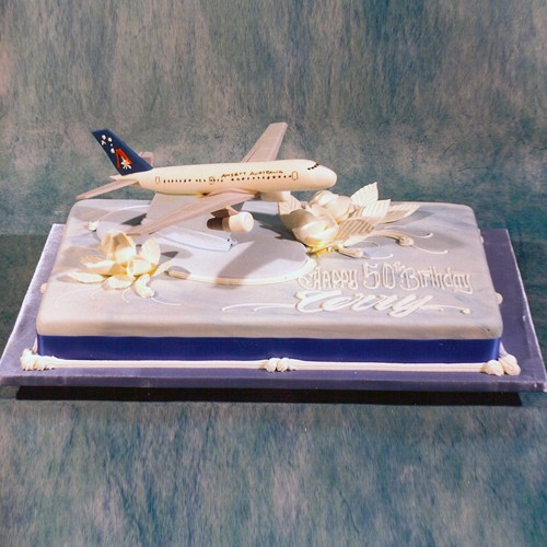 747 on The Cake
