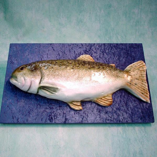 3D Salmon Fish Cake