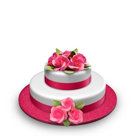 Floral - Top & Side Bouquet - 35 Portions