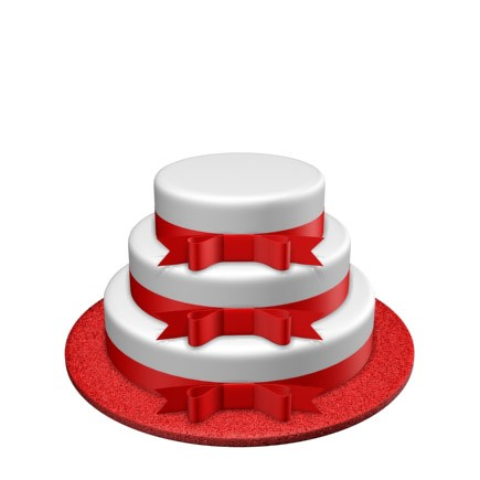 3 Tier - Round - Low - 52 Portions