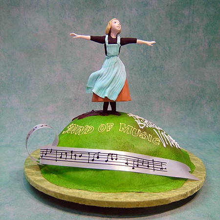 Sound Of Music Cake Topper