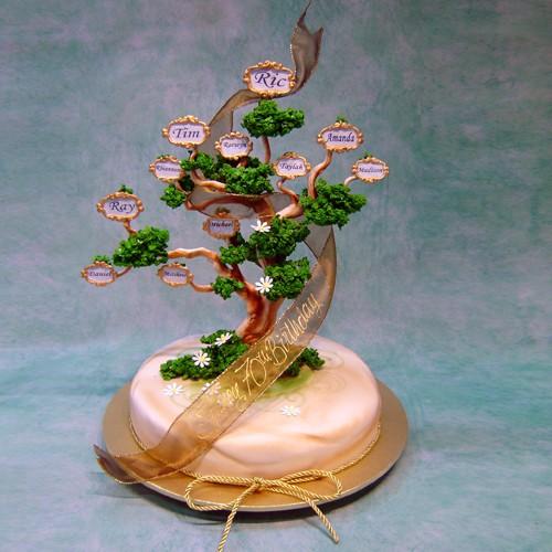 Family Tree Cake Centrepieces Special Cakes