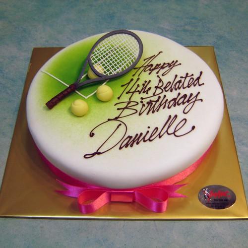 Tennis Cake Centrepieces Special Cakes