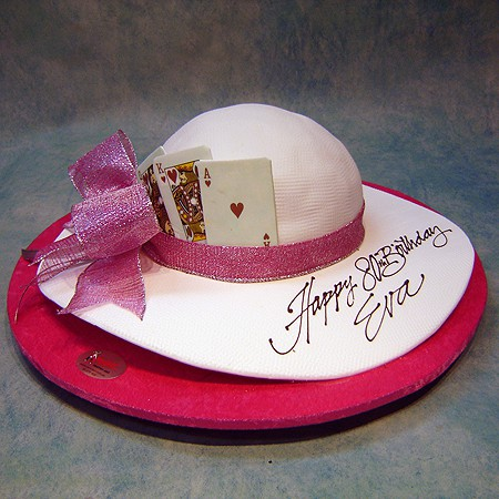 Lady Hat with Cards