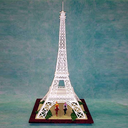 Eiffel Tower Cake Pictures on Eiffel Tower