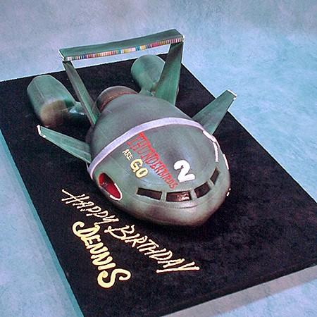 Thunderbird  Cake Mould