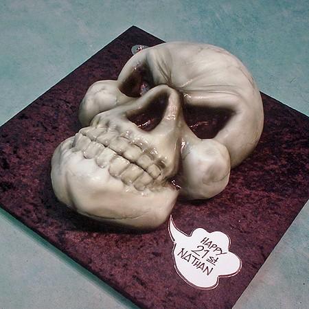 Scull Cake
