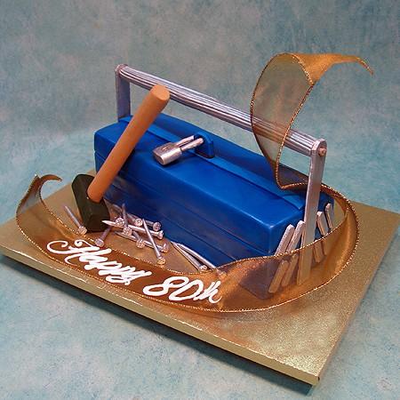 3D Tool Box Cake