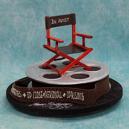 Director Chair On Film Household Clothing 3d Cakes