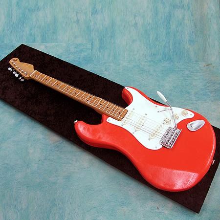 3D Fender Stratocaster Cake - Musical - 3D Cakes