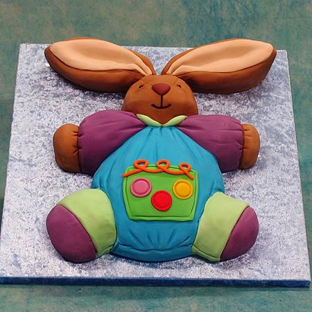 Soft Toy Rabbit Cake