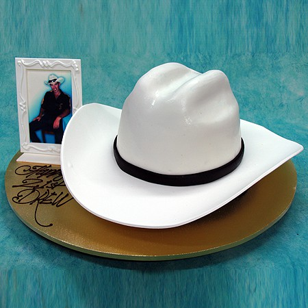 Hat with Picture Frame