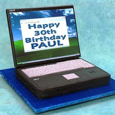 Lap Top 3D Cake