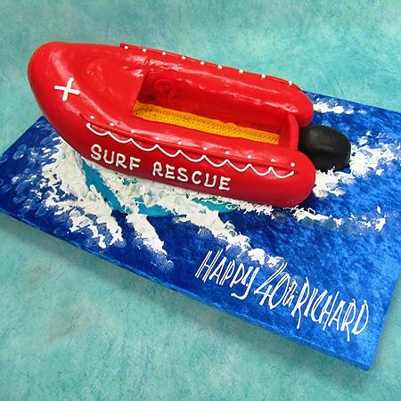 Surf Rescue Cake