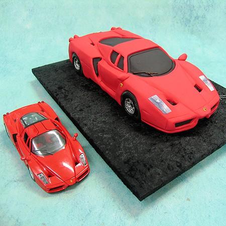 Red Ferrari - Cars - 3D Cakes