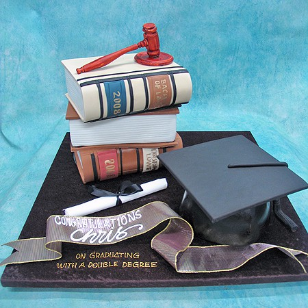 Books And Graduation Hat