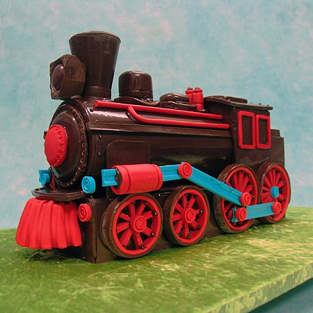 Chocolate Train Cake Trucks Trains Tanks 3d Cakes