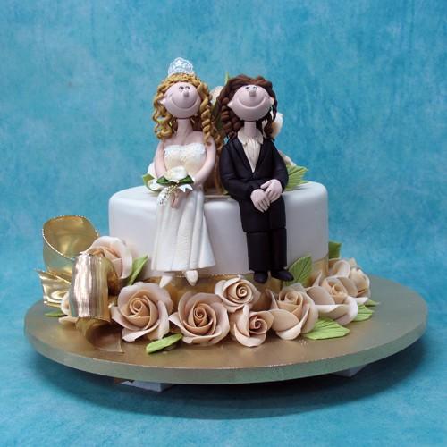 Curlie Hair Couple