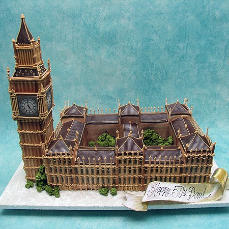Big Ben - Buildings - 3D Cakes