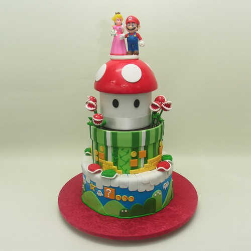 Super Mario Wedding Cake Humorous Wedding Cakes