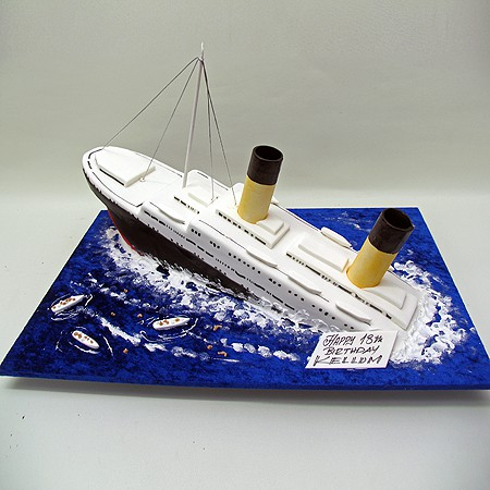 Titanic Birthday Jakes Party