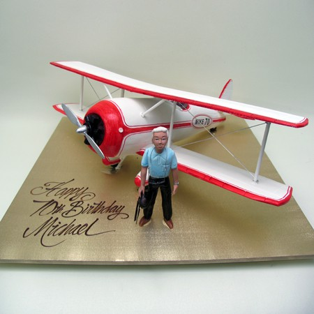Tigar Plane Cake Planes Helicopters Air 3D Cakes