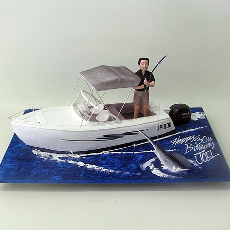 how to make a sugarpaste boat