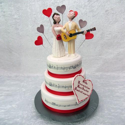 Serenade Wedding Cake