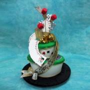 2 Tier Casino Cake