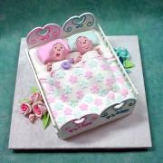 Babies in Cradle