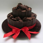 Chocolate - 2 Tiers - 35 Portions