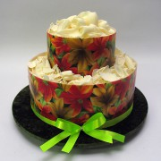Chocolate Edible Images - 2 Tiers - 53 Portions