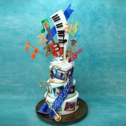 Musical Life Journey Cake