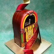 Juke Box Cake