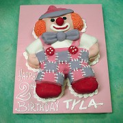 Soft Toy Clown Cake