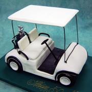 3D Golf Buggy Cake