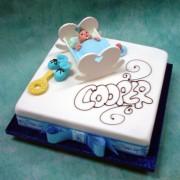 Square Cradle Cake