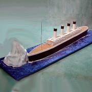 Titanic & Iceberg Cake