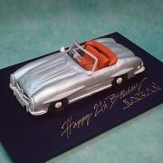 Silver Mercedes