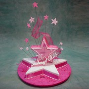 Double Star Cake