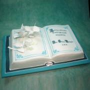 Book Christening Cake