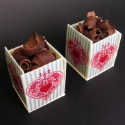 Heart Cube Cake