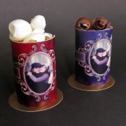 Custom Image Cylinder Cake