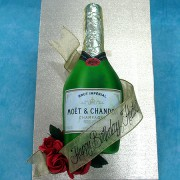 Moet Chandon Cake