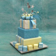 3 Tiers Cubes & Stars