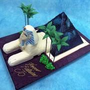 Luxor Hotel Cake