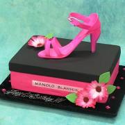 Manolo Blannik Shoe 3D Cake